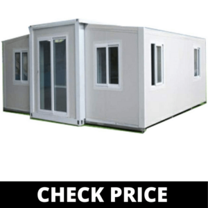 Tiny house made of shipping containders