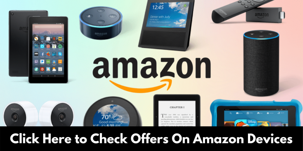 Black Friday Amazon offer in Amazon Devices