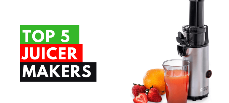 top 5 juicer makers in the usa