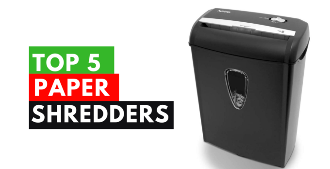 top 5 best paper shredders in the usa